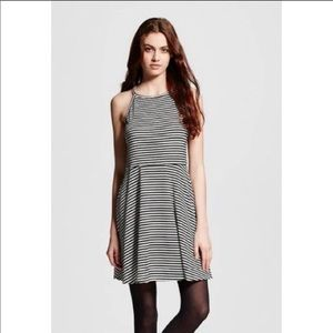 Mossimo Supply Co. Black & White Stripe Dress